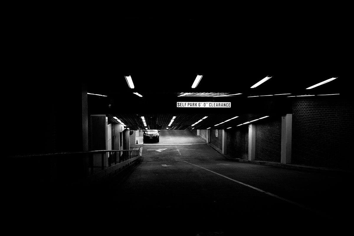 black-and-white-dark-car-219